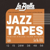 600L Jazz Tapes – White Nylon Light 12-56